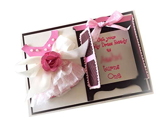 Crack of Dawn Crafts Party Frock Invitation - Pack of 25