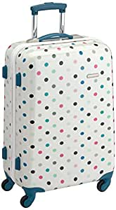 American Tourister Valise Jazz Spinner M 67 cm 52 L Blanc Cassé (Spring Dots) 47643/4250