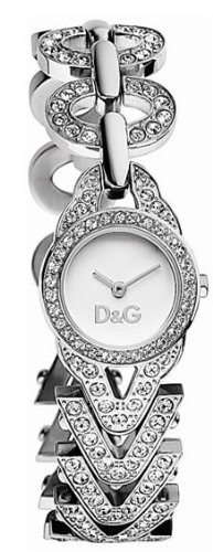 Dolce & Gabbana DW0548 Women's Analog Quartz Watch with Silver Stainless Steel Bracelet