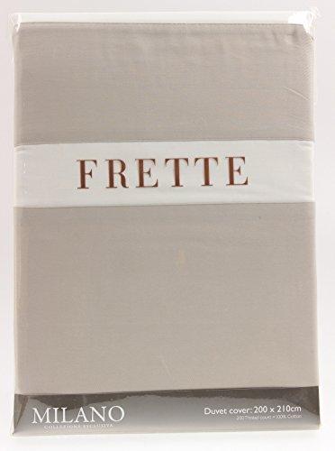newest 4ca4e bcc99 Frette 1706111 Milano, copripiumino matrimoniale, 200 x 210 ...