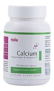 Zenith Nutrition Calcium, Magnesium and Vitamin D - 180 Capsules
