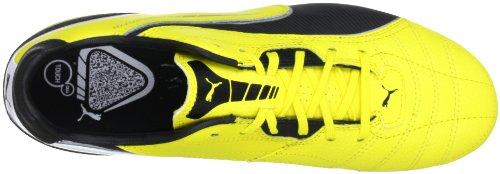 Puma Momentta Fg, Chaussures de football homme Jaune - Gelb (blazing yellow-black-whit 01)