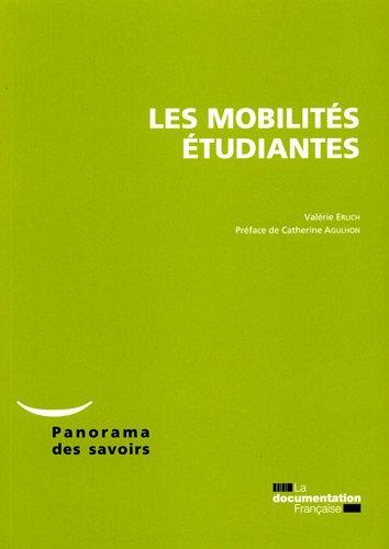 Les mobilités étudiantes par Observatoire national de la vie étudiant