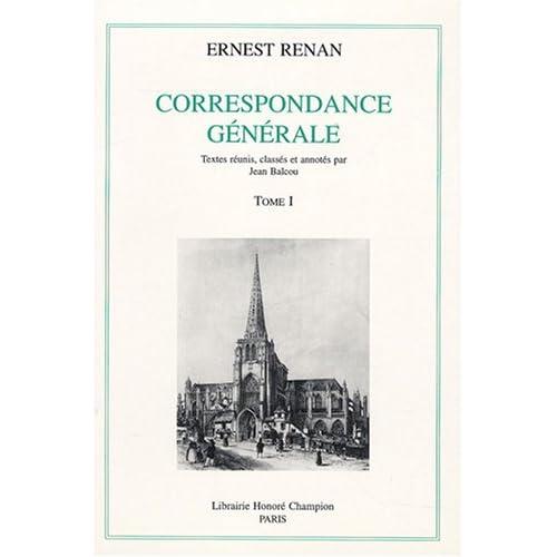 Correspondance générale : Tome 1, 1836-1845