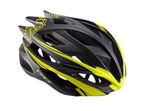GT Corsa Cycling Helmet - Black/Yellow, 52-58cm