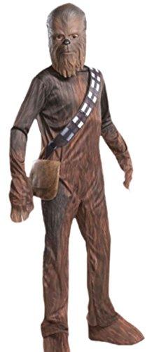 erdbeerloft - Jungen Karnevalskomplettkostüm Star Wars Chewbacca, 152, Braun