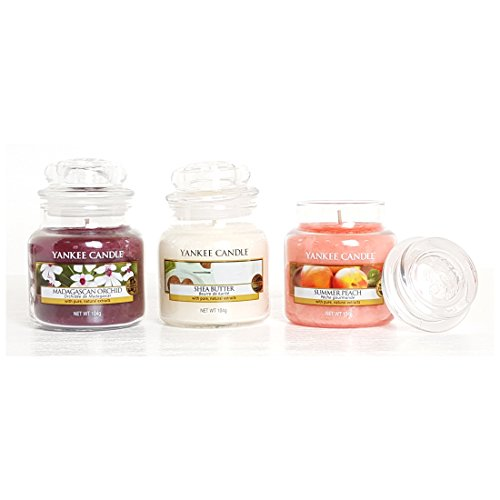 andle Starter Set Auswahl Box Geschenk Set von 3Signature Mini Kleine Marmeladengläser (Christmas In A Jar)
