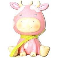 Preisvergleich für Spardose für Kinder Idee Geschenk Kuh Margerite mit Schleife, 17,5x 15x 11cm