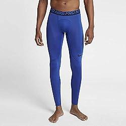 Nike M NP TGHT Pants, Hombre, Game Royal/Obsidian/Black, S
