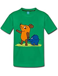 Maus & Elefant Kinder Premium T-Shirt von Spreadshirt®