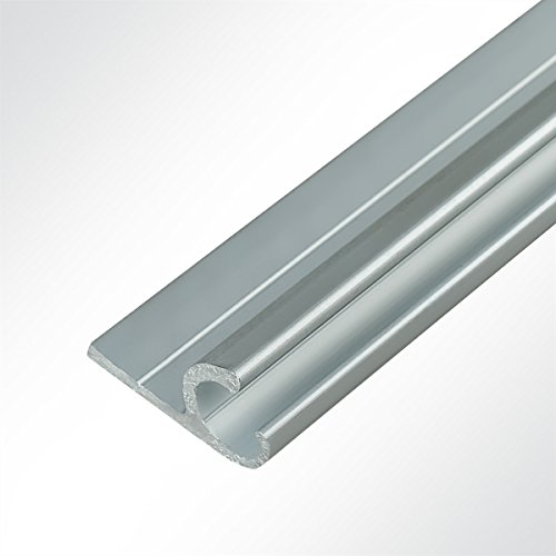 Preisvergleich Produktbild LYSEL® Aluminium Kederschiene Vorzeltkederschiene eloxiert 15x30mm 2 Meter