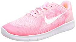 Nike Mädchen Free RN 2 (GS) Laufschuhe, Pink (Arctic Punch/mtlc Summit Wht 602), 36 EU