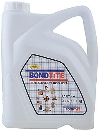 BondTite Resinova -High Gloss & Transparent- Part A (1 Kg)