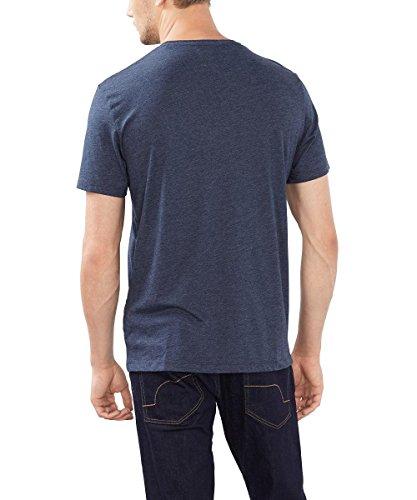 edc by ESPRIT Herren T-Shirt 086cc2k028 Blau (NAVY 400)