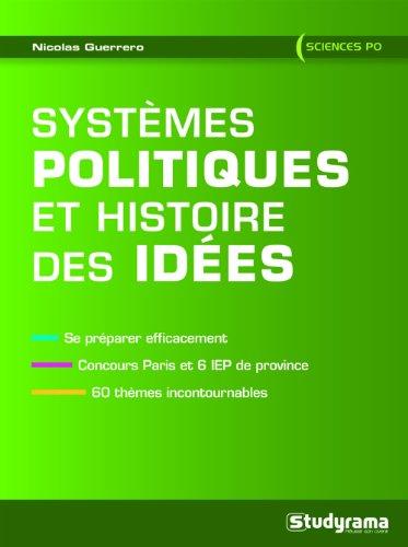 Systèmes politiques et histoire des idées - Sciences Po