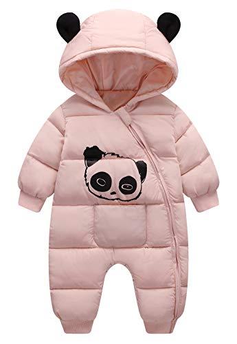 Happy Cherry Snowsui Tuta da Neve Bambino Ragazzo Ragazza Abbigliamento di Neve Set Bambino Cappotto Combinazione di Neve con Cappuccio Bambino