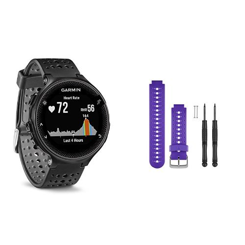 Garmin Forerunner 235 WHR Laufuhr (Herzfrequenzmessung am Handgelenk, Smart Notifications)