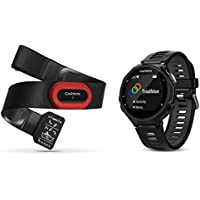 Garmin Forerunner 735XT GPS Multisport and Running Watch with Heart Rate Monitor - Black/Grey