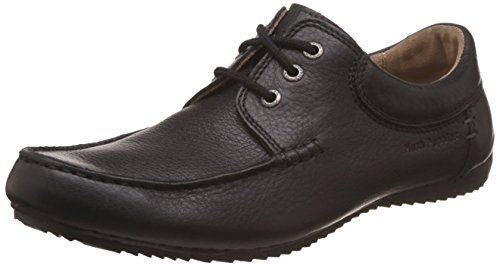 Hush Puppies Men's Randell Roll Mocc Leather Formal Shoes