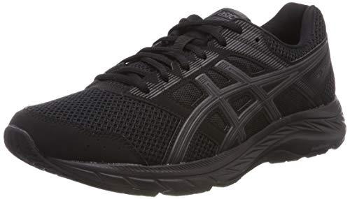 Asics Gel-Contend 5 1011a256-002, Zapatillas de Entrenamiento para Hombre, Negro (Black 1011a256/002), 44 EU
