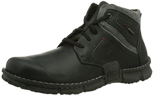 Josef Seibel Schuhfabrik GmbH Willow 14, Herren Desert Boots, Schwarz (schwarz/foscia 613), 44 EU (10 Herren UK) -