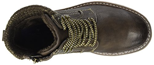 Tom Tailor 379990930, Stivali Donna Braun (Testa)