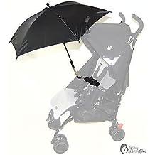 Bebé Sombrilla Compatible con Chicco Multivía Urban negro de Londres