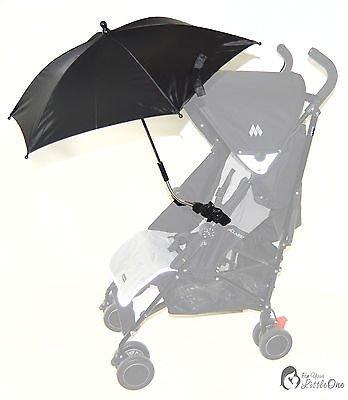 Baby Sonnenschirm kompatibel mit Britax affinity B-Smart Smile schwarz (Britax Smart Kinderwagen)