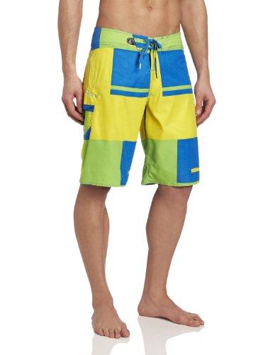 Volcom Herren Boardshorts yellow flash