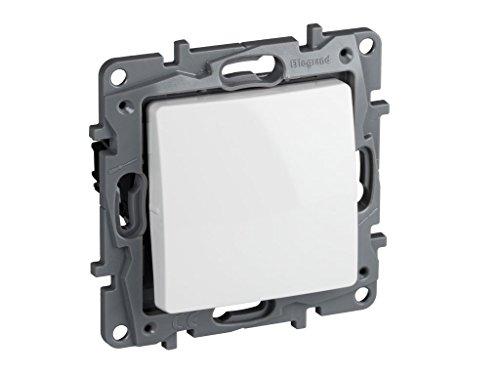 Legrand, 396505 Niloé - Interruptor conmutador para empotrar, interruptor para interior, color...