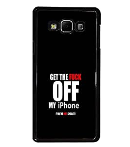 PrintDhaba Quote D-1247 Back Case Cover for SAMSUNG GALAXY A7 (Multi-Coloured)