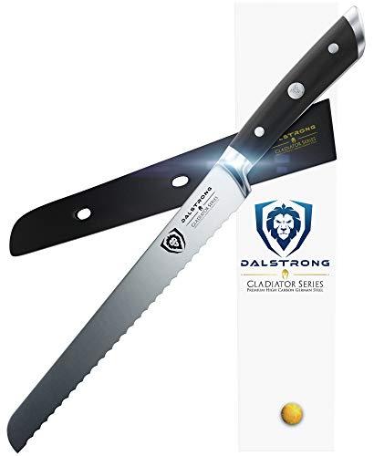 Dalstrong Brotmesser - Gladiator Series - Bread Knife - Deutscher HC Stahl - 25,4 cm Offset-slicer