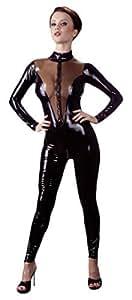 Latex Catsuit black