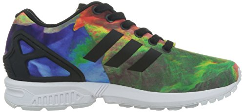 adidas Zx Flux, Baskets mode femme Multicolore (St Tropic Melon S14/Running White Ftw/Black)