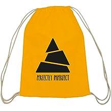 Shirtstreet24, al imperfetto, triangolo in cotone ecru babysmiles zaino Sport sacchetto gelb natur