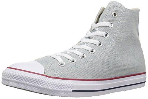 Converse Unisex-Erwachsene Chuck Taylor CTAS Hi Sneakers, Mehrfarbig (Light Blue/White/Brown 472), 42 EU