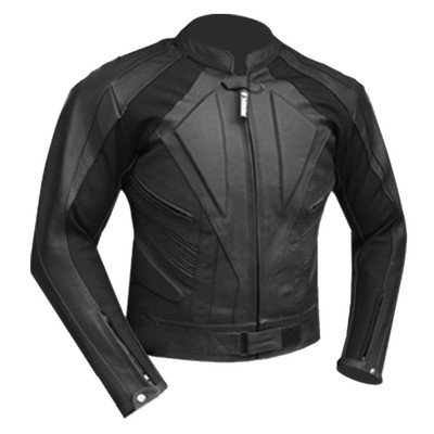 Vector Race Leather CE Armoured Motorcycle Jacket 1.4MM Full & Part Zips