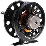 Segolike Fly Fishing Fish Reel Former Ice Fishing Vessel Wheel 4mm / 150m 1:1 Black