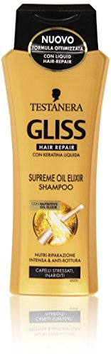 Testanera - Gliss Hair Repair, Shampoo con Nutritive Oil Elixir - 250 ml