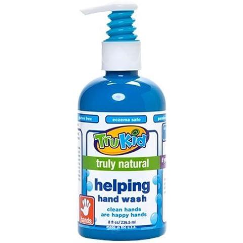 TruKid Helping Hand Wash, 8 Ounce by TruKid