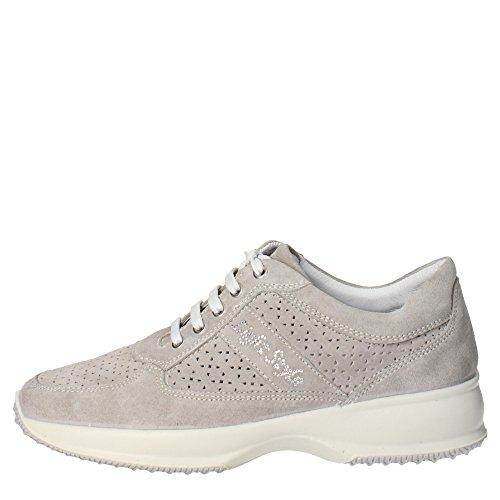 Imac 31641 Sneakers Donna Camoscio Grigio Grigio 36