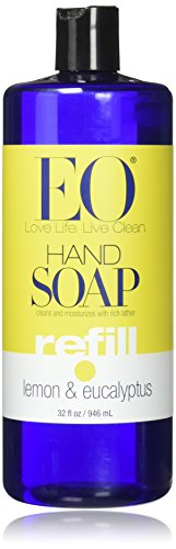 EO Products Lemon Eucalyptus Refill 32 oz Hand Soap by EO -