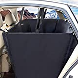 Haustier Hund Auto Sitzbezug für Rücksitze wasserdicht gepolsterte Anti-schmutzige Auto-Matte für LKW & SUVs (Farbe : C)
