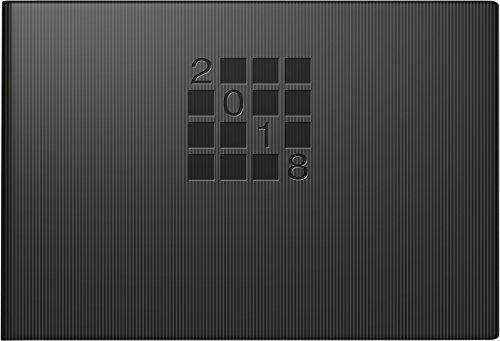 Produktbild Taschenkalender 2018 Septimus schwarz: Papier-Einband Linea, Modell 17 561