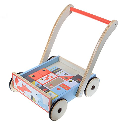 labebe-baby-toddlers-sit-to-stand-learning-walker-2-in-1-use-as-toy-chest-storage-push-and-pull-toy-