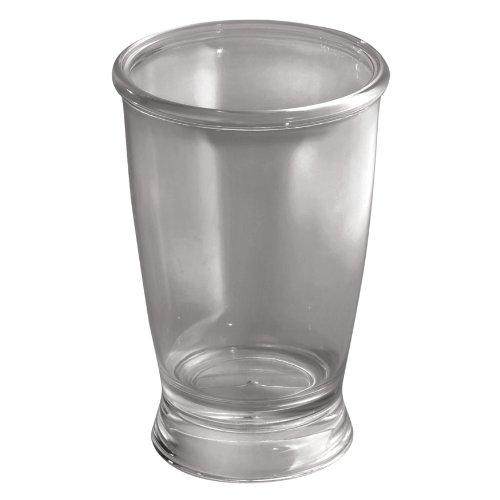 interdesign-franklin-plastic-tumbler-cup-for-bathroom-vanity-countertops-smoke
