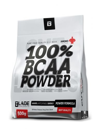 BLADE Series - 100% BCAA Pulver + Glutamin- 500g Geschmack Mango-Melone