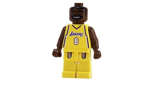 Kobe Bryant Custom Minifigure NBA Minifigures LA Lakers