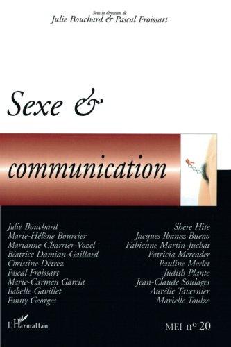 MEI, N° 20 : Sexe & communication