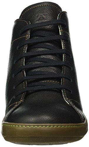 El Naturalista N212 Soft Grain Meteo, Bottes Classiques Homme Noir (Black)